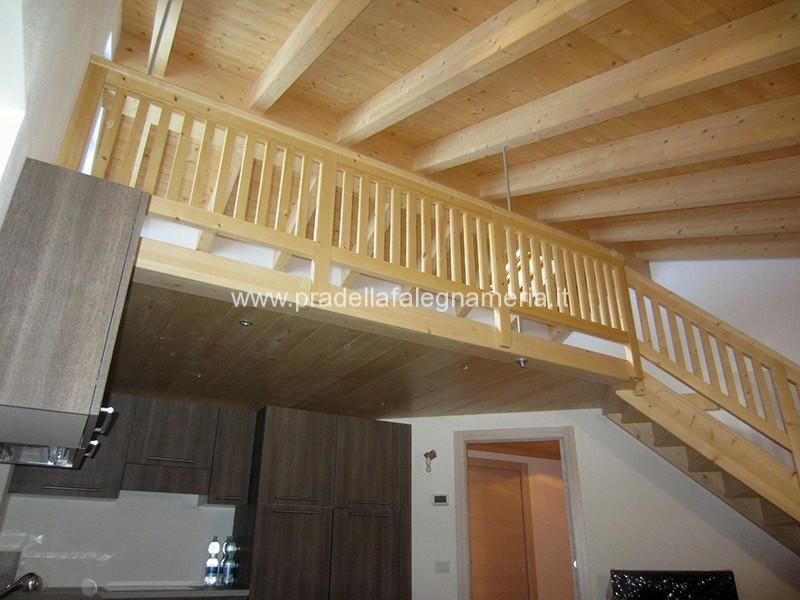 Pradella falegnameria soppalco in legno - Soppalco in legno autoportante ...